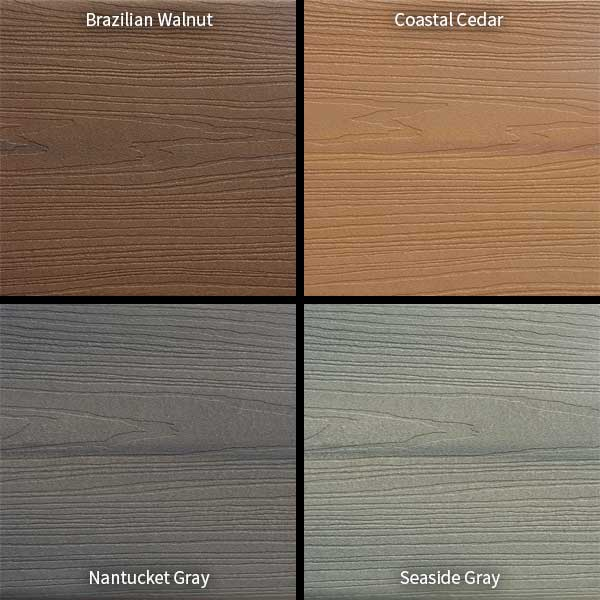 Trex Decking Colors >> Veranda ArmorGuard Composite Decking