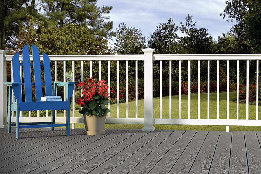 Veranda decking enclave railing veranda deck for Veranda composite decking