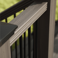 Composite decking deck railing fencing veranda for Comparison of composite decking brands