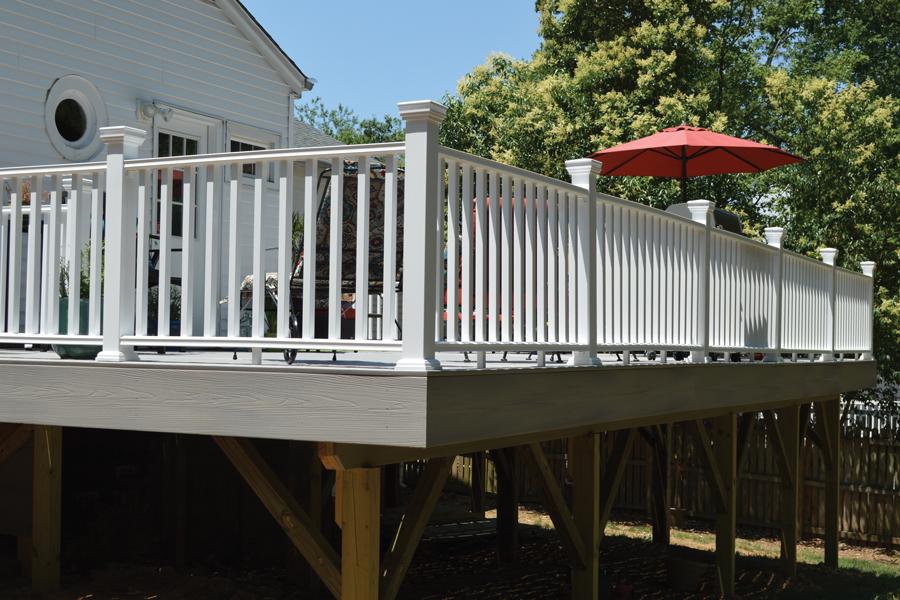 Composite Porch Decking